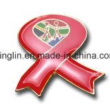 Insignia a todo color del metal del color de Epoxy / Pin de la solapa para el regalo de la promoción