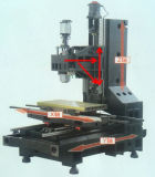 Verificación Carril Mini CNC Fresadora, Centro de mecanizado CNC EV850L