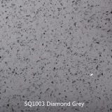 Diamond белый дешевые искусственного кварца камень слоя в Китае