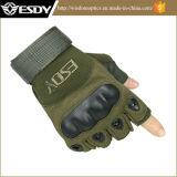 Перст Airsoft Fingerless Esdy напольных перчаток Chepaer половинный