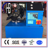 熱い販売の低価格のセリウムのフィン力の油圧ホースのひだが付く機械