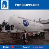 대륙간 탄도탄 차량 - 50 Cbm 대량 시멘트 언로더 유조선 땅 고약 탱크 트레일러