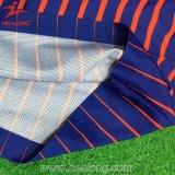 Roupa ajustada das camisas do futebol uniforme de Subliamtion