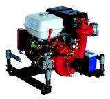 직업 제조자 또는 공장 Honda 엔진을%s 가진 휴대용 원심 화재 물 싸움 펌프