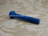 Boulon Hex d'ASTM A193 B7 avec revêtu de téflon (bleu)