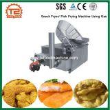 Prix compétitif Snack friteuse/ utilisant le gaz de la machine de friture de poissons