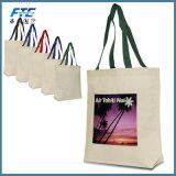 Promoción de la bolsa de algodón de OEM de lienzo Canvas Tote Bag