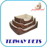 High Quaulity Imitation Leather Dog Bed Supply (WY120414-1A/C)