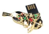 크리스마스 PC를 위한 소형 8GB 16GB 32GB 64GB 금속 USB 섬광 드라이브