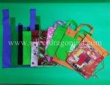 Kundenspezifischer niedriger Preis-nicht gesponnener gestempelschnittener Beutel, flacher Beutel, umweltfreundlicher Beutel