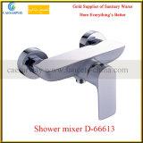 新しい進水させた真鍮の単一のレバーのシャワーMixer&Faucet (D-66613)