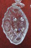 Produtos vidreiros Sdy-F00387 da alta qualidade da louça da bacia de vidro do projeto