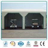 Garagem de aço pré-fabricada pre de planejamento barata do edifício