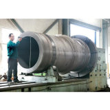 Цилиндр высокой тоннажности одиночный действующий большой гидровлический для подниматься