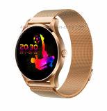 磁石の止め金の時計バンドの心拍数のモニタK88が付いているスマートなBluetoothの腕時計