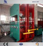 Imprensa Vulcanizing da borracha durável para a produção de borracha das esteiras