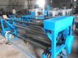 Pequeña máquina que raja de Rolls de la tela no tejida caliente del uso para la venta