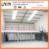 Plataforma del piso de entresuelo de la estructura de acero de la carga pesada