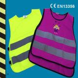 Colete de segurança de crianças de alta visibilidade para marcação EN 471