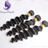Trama ondulata allentata dei capelli umani del nero di getto #1 Remy