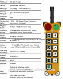 Teledirigido de radio industrial teledirigido sin hilos con precio de fábrica, teledirigido barato del interruptor F24-10s