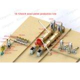 linea di produzione di legno della pallina 10-12ton/H