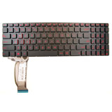 Het Toetsenbord van de computer/Laptop Toetsenbord/Getelegrafeerd Toetsenbord voor Asus Gl552 Gl552j Gl552jx Gl552V Gl552vl Gl552VW ons Lay-out