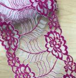 Großhandelsqualität mehr Farben-auserlesene elastische Spitze für Kleid