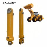 Cilindro hidráulico ativo dobro do cilindro da cubeta para a máquina escavadora