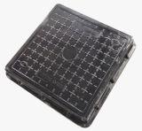 Крышка люка -лаза сточной трубы квадратного дренажа пользы дома размера 500X500mm декоративная пластичная