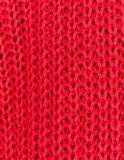 Мелкий рубчик из культур Пуловер с воротником и длинными рукавами
