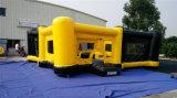 2016 juegos hambrientos inflables del amortiguador auxiliar de los juegos del nuevo diseño para la venta