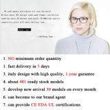 2016 Form-Qualität Retro großes rundes rostfreies Eyewear