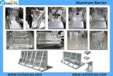 コンサートのアルミニウム群集整理の障壁