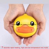 Réchauffeurs authentiques de main de canard chargeant les cadeaux mignons de mini de canard de dessin animé de pouvoir Noël jaune portatif mobile du côté 6000mAh