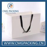Matt-Laminierung-Papier-Kleid-Einkaufstasche (CMG-MAY-010)