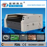 Schnelles Gewebe des Filz-110W und Gummi-Symbol-Laser-Ausschnitt-Maschine