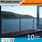 Main courante de verre/escalier de verre/décoration en verre/verre pilier