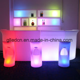 LED de plástico brilhante Bar Restaurante Counters para venda