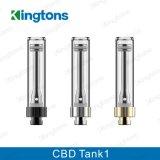 Réservoir de stockage de pétrole à extrémité élevé de Cbd du réservoir 1 de goût de la meilleure qualité de Kingtons