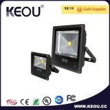 Ce/RoHS Aluminum&Acrylic LED Flut-Licht 10With20With30With50W