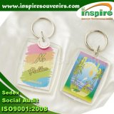 Kundenspezifische Delphin-Acrylschlüsselkette für Andenken