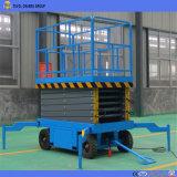 Plataforma de trabajo aéreas mesa elevadora de tijera hidráulico