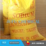 Natrium Lignosulfonate verwendet als Plastifiziermittel-gesetzte Dauerbremse für konkrete Beimischung