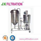 Type de bougie de la bière la diatomite automatique du filtre de la terre