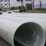 GRP/FRPの巻上げの管地下FRPの管