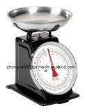 Klassische Ansammlungs-Retro mechanische Küche-Nahrungsmittelwiegende Schuppe
