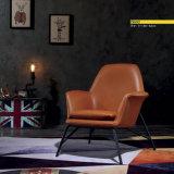 Loisirs Classial style fauteuil en tissu&Housse en cuir (B107)