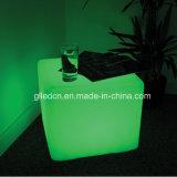 40X40X40см LED Cube стол и стул для гостей закусочный бар