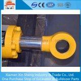 Braço da barra do cilindro da caçamba com tubo de óleo para Kobelco SK200 Cilindro Hidráulico da escavadeira